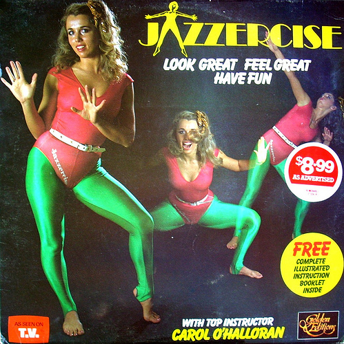 Jazzercise, anyone?